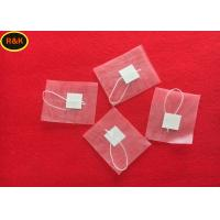 Buy cheap Acidproof 200 Micron Empty Nylon Tea Bags Filter Mesh Roll With Label Easy Cleaning from wholesalers