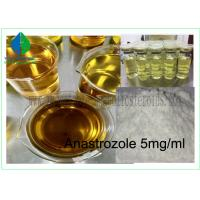 Buy cheap Injectable Anabolic Steroids Drugs Vial Anastrozole 5mg / Ml For Muscle Gaining from wholesalers