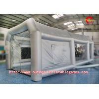 Buy cheap Durable Inflatable Tent Spray Paint Booth Tent For Car Garage With Air Blowe from wholesalers