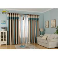 Buy cheap Textile Decoration Jacquard Window Curtains Fabric Heat Insulation For Guest Room from wholesalers