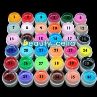 Buy cheap 1/36Pc Solid Pure Mix Color UV Gel Acrylic Set Builder Polish Nail Art Decor Kit from wholesalers