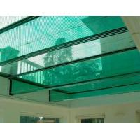 Buy cheap glass balcony, laminated glass, size at 300x300mm, float glass, color glass, double pane, for glazing windows from wholesalers