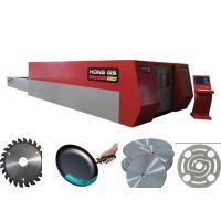 1000 W Fiber Sheet Metal Laser Cutting Machine With High Speed , Water Cooling