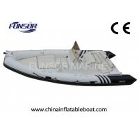 Buy cheap Motorized V - Shaped Hard Bottom Inflatable Boats 12 Person With CE Approved from wholesalers