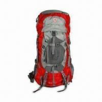 Buy cheap Hiking Backpack/Mountaineering Bag, Made of 420D Nylon and PU Coated from wholesalers