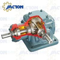 Buy cheap JT85 Spiral Bevel Gearbox Right Angle 85MM 3-2/5 Inch Drive Shafts Transmission Ratios 1:1 from wholesalers