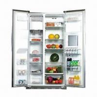 Buy cheap Side-by-side Refrigerator with Ice Maker, Water Dispenser and Minibar from wholesalers
