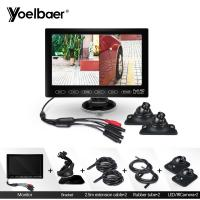 Buy cheap Foldable TFT LCD 7 Inch Rear View Monitor Camera Hidden Reverse Parking Aid System from wholesalers