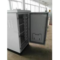 Buy cheap Steel Outdoor Enclosures For Electrical Equipment , Outdoor Telecom Equipment Cabinets product