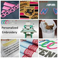 Buy cheap Flat bed / Cap Single Head Embroidery machine , digital commercial embroidery equipment ,15 needles product