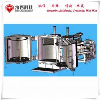 China Silver Spoon Aluminum Vacuum Metallizer Machine For Plastic Abs Spoon / Forks on sale