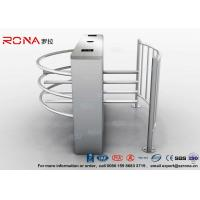 Quality Waist Height Turnstiles DC 24V Brush Motor RS485 Communication Interface with CE approved for sale