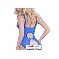 Buy cheap HOT Sexy Lady jumpsuit Outfit Costume Fancy Erotic Teddy Lingerie Dress from wholesalers