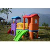 Buy cheap Environmental Plastic Slide Swing Playhouse Set Outdoor Toys For Kids Age 6 Years from wholesalers