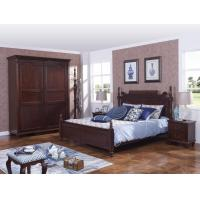 Buy cheap Rubber Wood made bedroom furniture in Special design Modern Headboard with wood from wholesalers