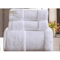 Buy cheap White 100% Cotton High Quality Bath Towels Embroidery Fancy Design from wholesalers