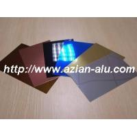 Buy cheap supply colored Mirror Aluminum Sheet Plated Panel Sheet for Clip in Ceiling tiles from wholesalers