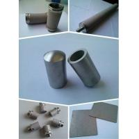 Buy cheap AISI316 316l  gold member stainless steel pipe sintered metal filter from wholesalers