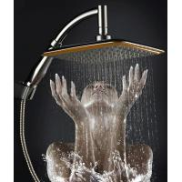 Buy cheap China Ningbo cixi factory 9-inch handheld-head shower with two functions one as hand shower and other head shower new from wholesalers