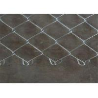 Buy cheap 48 x 100' Size 60mmx60mm Galvanized Chain Link Mesh Fence Project from wholesalers