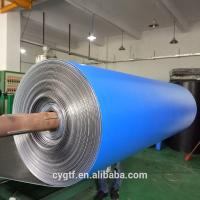 Buy cheap Industrial Construction Heat Insulation Foam Thermal Pool Blanket Material Blue Xpe product