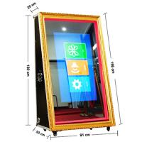 Buy cheap Portable Amusing Wedding Mirror Photo Booth Internet Delivery Self Serve Operation from wholesalers
