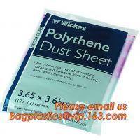 Buy cheap Plastics pe protective drop cloth, plastic protective drop cloth, Plastic protective drop cloth/ dust sheet/cover film from wholesalers