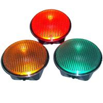 Buy cheap 24v Semaforo  Led Vehicle Traffic Lights EN12368 300mm Hi-flux LED Traffic Signal Module from wholesalers