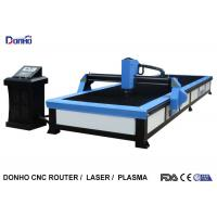 Buy cheap Start Control CNC Plasma Cutting Table , Plasma Cutting Equipment For Stainless Steel from wholesalers