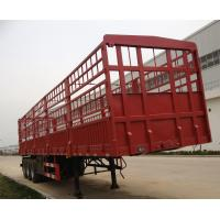Buy cheap Container Cargo Lorry Trailer , 3 Axle Semi Trailer Trucks with Manual Transmission from wholesalers