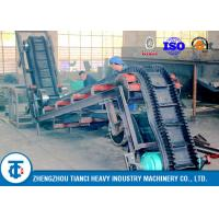 Buy cheap Heavy Duty Industrial Large Angle Sidewall Conveyor Belt Rubber Corrugated Type from wholesalers
