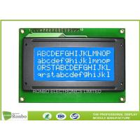 Buy cheap Monochrome COB Type 16x4 Character Lcd Display Panel STN Blue Negative from wholesalers