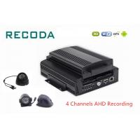 Buy cheap 3G 4G WIFI GPS 4ch Hard Disk Car Dvr Analog HD 720P Car Black Box Mobile DVR product