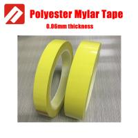 Buy cheap high tempreture electrical insulation mylar polyester film tape for transformer factory from wholesalers