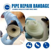 Buy cheap Armored Cast Emergency gas and water pipe leak Crack repair Bandage water activated fiberglass tape from wholesalers