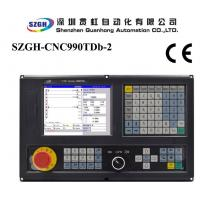 2-4 Axis CNC Lathe Controller , Turning PLC cnc machine control system