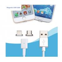 Buy cheap IPhone Micro USB Data Cable Dust Proof , 2.4 A  Fast Charging Cable For Android from wholesalers