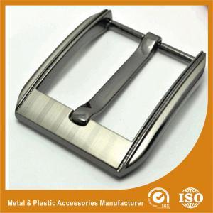 40MM Fashion Unusual Custom Belt Buckle Laser Gunmetal GK3681