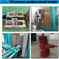 Buy cheap PLC control apg clamping machine for insulator cylinder from wholesalers