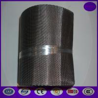 Buy cheap 260/40 x127mmx10m Twilled Reverse Dutch Weaves Filter Ribbon Screen With Combed Side Hem from wholesalers