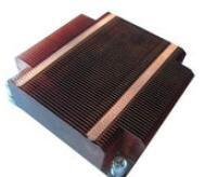 Buy cheap GS ROHS Aluminum Heat Sinks ,Thin Round Silver Copper Cooling Fin from wholesalers