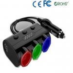 Buy cheap car cigarette lighter socket adapter from wholesalers