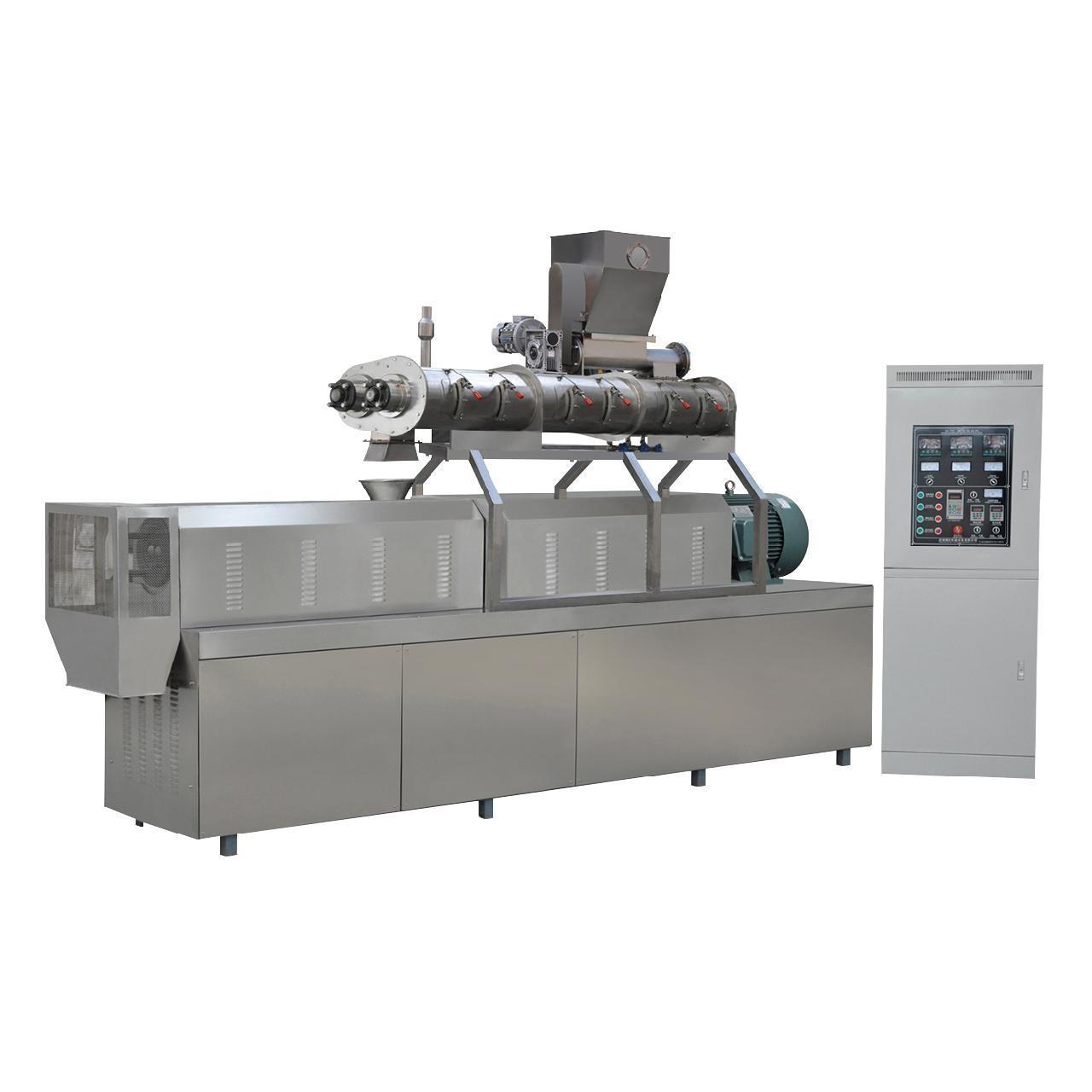 Buy cheap 900kg/h twin screw extruder South Korea fish feed pellet machine price from wholesalers