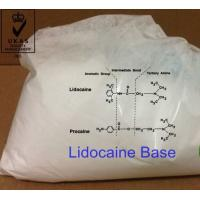 Buy cheap Local anesthetics APIs Lidocaine Base CAS 137-58-6 Pharmaceutical Raw Material Steroid Hormones from wholesalers