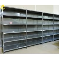 Grain Oil Display Racks For Markets Dark Gray Color Large Storage Space