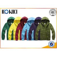 Buy cheap Lightweight Athletic Hooded Sweatshirts For Men Zipper Closure from wholesalers