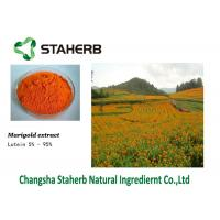 Buy cheap Lutein 127-40-2 Marigold Extract concentrated plant extract Zeaxanthin Color additive Eye Care from wholesalers