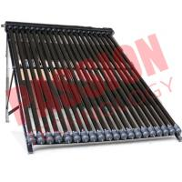 Buy cheap 20 Tubes U Pipe Solar Collector For House Black Manifold Wind Resistance from wholesalers