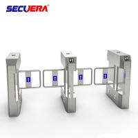 Buy cheap Professional Face Recognition Security System Flap Turnstile Barrier Gate made in China from wholesalers