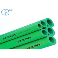 Buy cheap Good Insulation Ability Green PPR Pipe 20-160mm For Hot And Cold Water from wholesalers